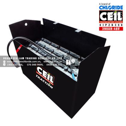 Bình điện xe nâng CEIL (Chloride) 48V - 390Ah 6IPZB390