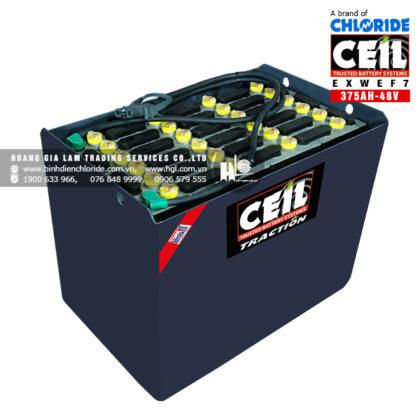 Bình điện xe nâng CEIL (Chloride) 48V - 375Ah EXWEF7